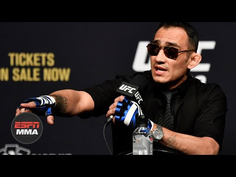 Tony Ferguson Reacts To Khabib Nurmagomedov Being Out Of UFC 249 [FULL] | ESPN MMA