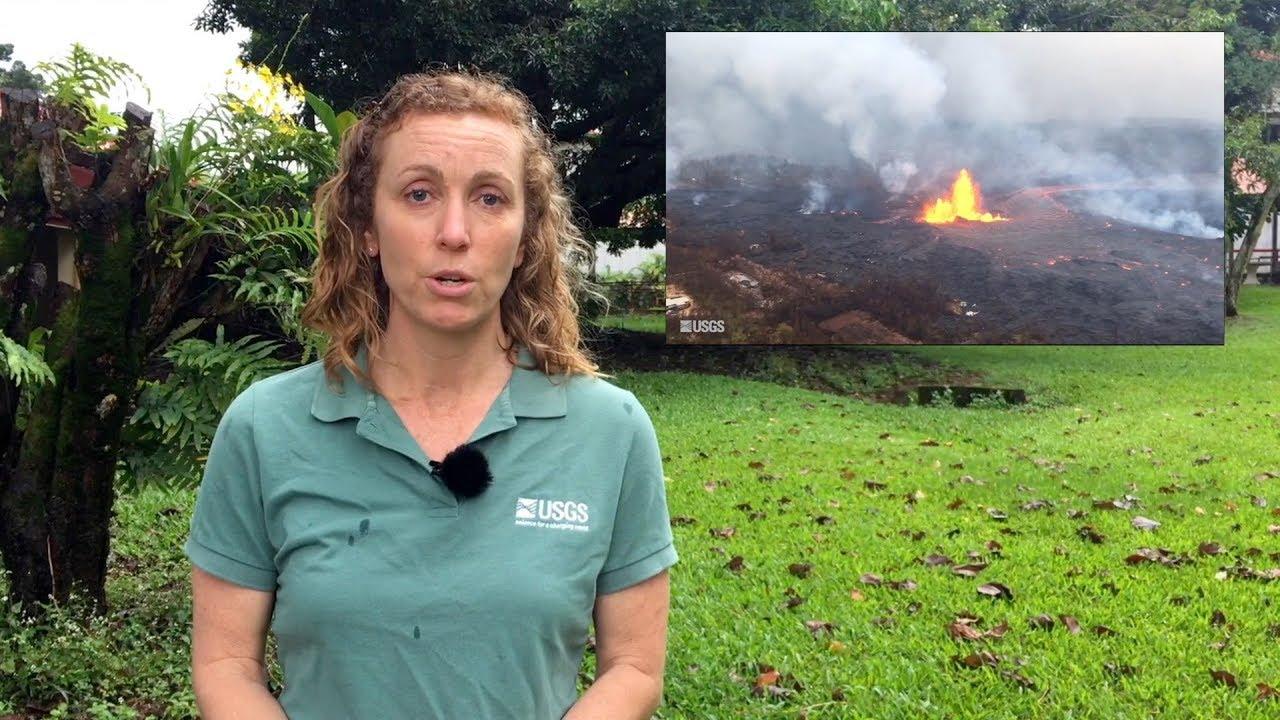 USGS Status Update of Kīlauea Volcano - May 30, 2018