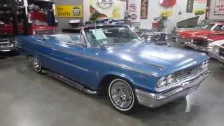 ***SOLD*** 1963 Gallaxy 500 Convertible, 390, Auto, Clean interior