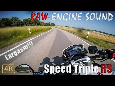 EARGASM!!! | Triumph Speed Triple RS | RAW-Engine Sound