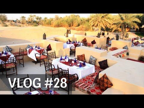Dubai Daily Vlog#28 Ужин у Шейха   Для нас танцуют   В самом сердце пустыни