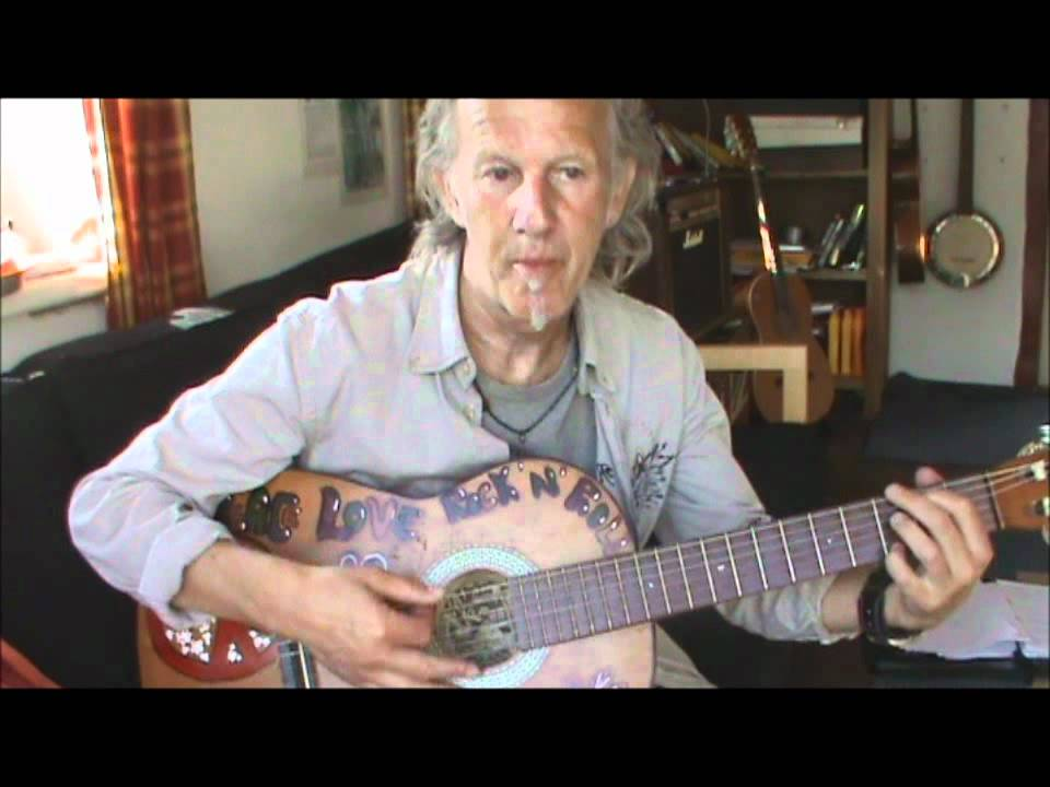 How To Finger Pick Streets Of London Guitar Lesson Youtube