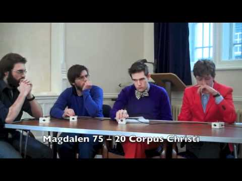 2012 Oxford ICQ Semifinal -- Magdalen vs. Corpus Christi -- Part 1 of 2