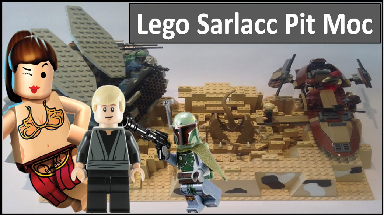 Lego Star Wars Sarlacc Pit Moc - YouTube