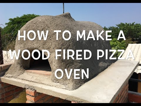 How to make a wood fired pizza oven for $170