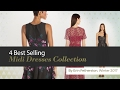 4 Best Selling Midi Dresses Collection By Erin Fetherston, Winter 2017