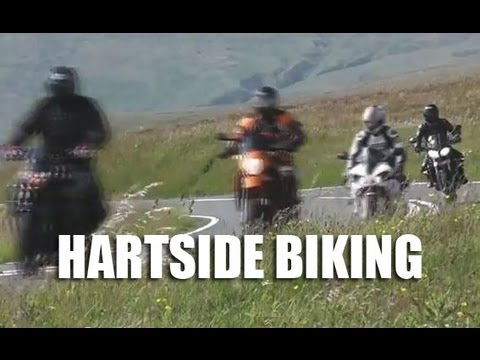 Hartside Bank Cafe - Motorcycle Mecca Cumbria Northern England