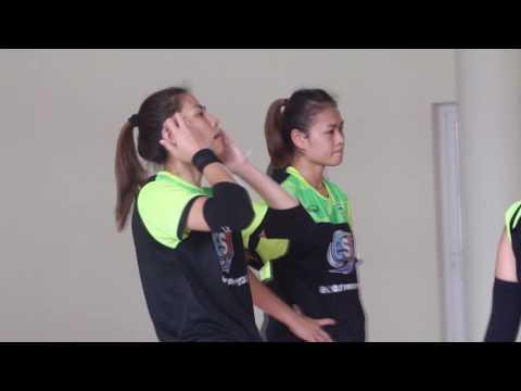 13 09 59 ทีมวอลเลย์บอลหญิงไทย AVC Cup 2016 ซ้อมครบทีม