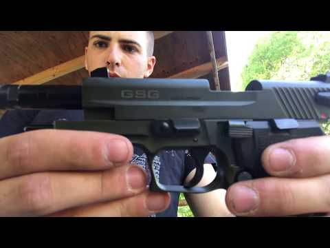 .22 Cal GSG Firefly - Reliability & Function
