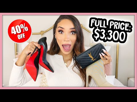 Luxury Designer Haul! Crazy Low Prices!