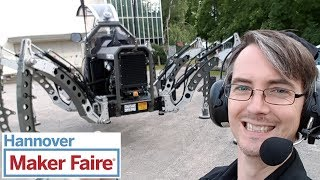 Maker Faire Hannover 2017 Main Event Vlog | XRobots