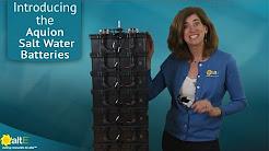 Aquion Energy Salt Water Batteries