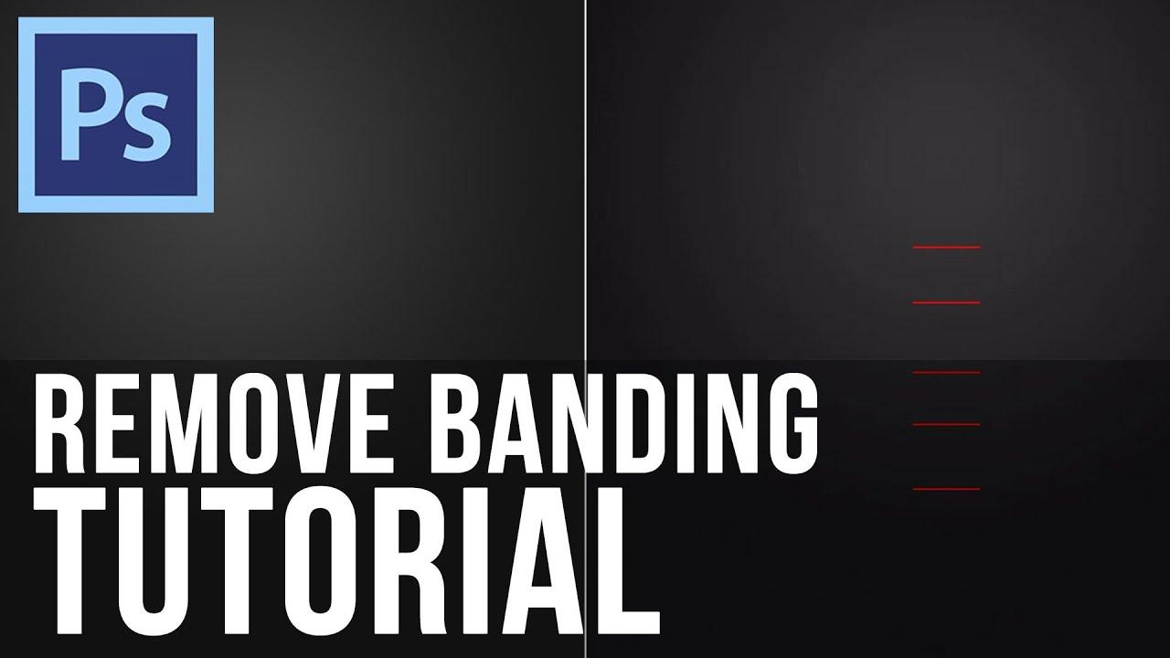 Adobe shop CS6 Remove Gra nt Banding