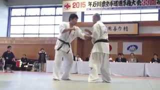 空手家 上田努の試合の映像です! 元キックボクサーの経歴を持つ男でも...