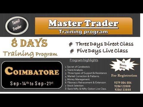 Master Trader Training Program In Coimbatore By Tamil Trader
