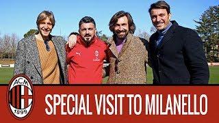 Ambrosini, Pirlo and Oddo: