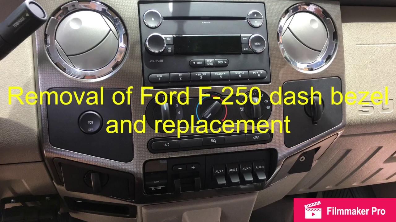 medium resolution of 2008 ford f250 radio installation