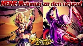 MEINE Meinung zu den neuen Helden! GOGETA und JANEMBA! ;D | Dragon Ball Legends Deutsch