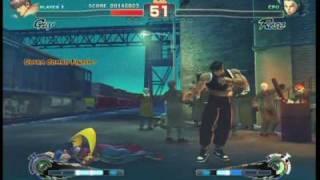 Super Street Fighter 4 - Gameplay Video 16
