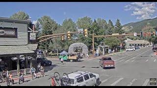 Фото Jackson Hole Wyoming Usa Town Square Live Cam - Seejh.com