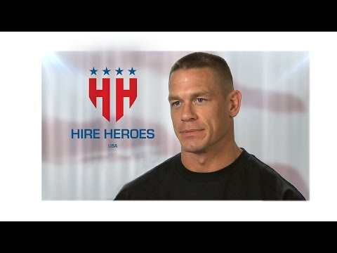 John Cena and WWE support Hire Heroes USA this Memorial Day