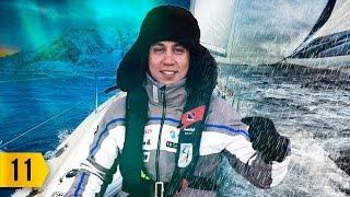 Жёсткий шторм. Путешествие на яхтах за полярным кругом и на собачьих упряжках.