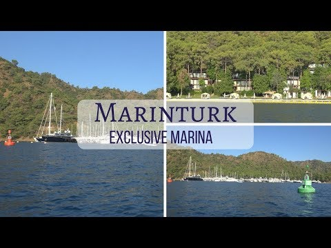 Marinturk exclusive marina Gocek Turkey   sea tv