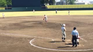 2015年5/2 高校野球春季兵庫大会 関学vs篠山鳳鳴戦.