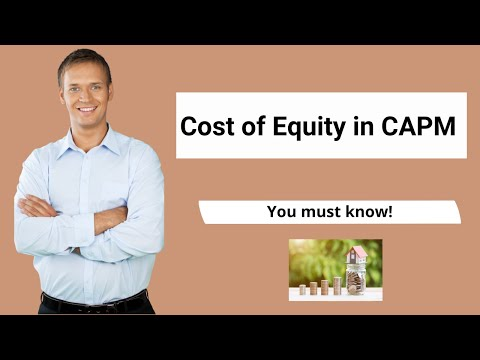 Cost of Equity in CAPM (Formula, Examples) | Calculation