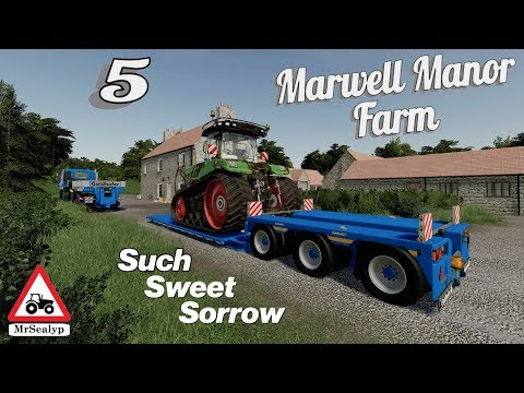 Marwell Manor Farm, 5, PS4, Farming Simulator 19, Such Sweet Sorrow! Let's Play/Role Play.