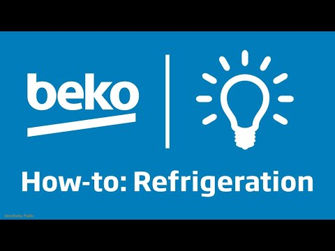 Product Support: How to use the electronic display on your American style fridge freezer | Beko