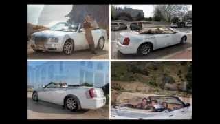 Кабриолет Крайслер 300С - Chrysler 300C. Кабриолет на свадьбу Севастополь,Симферополь,Ялта,Крым.