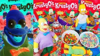 THE SIMPSONS CEREAL Krusty The Clown's Krusty-o's commercial Video