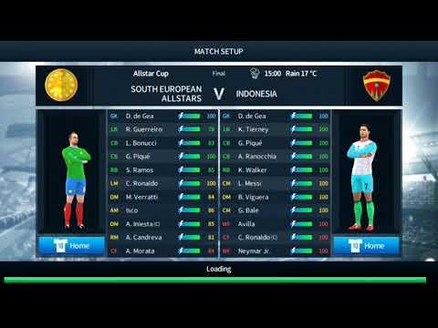 Dream League Soccer 18 - South Europe All Star vs Indonesia - #1