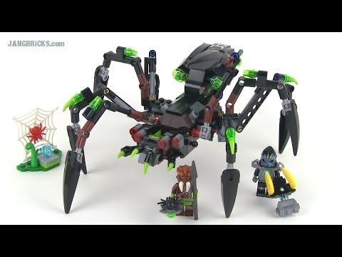 Lego chima sparratus 39 spider stalker 70130 set review youtube - Lego chima a colorier ...