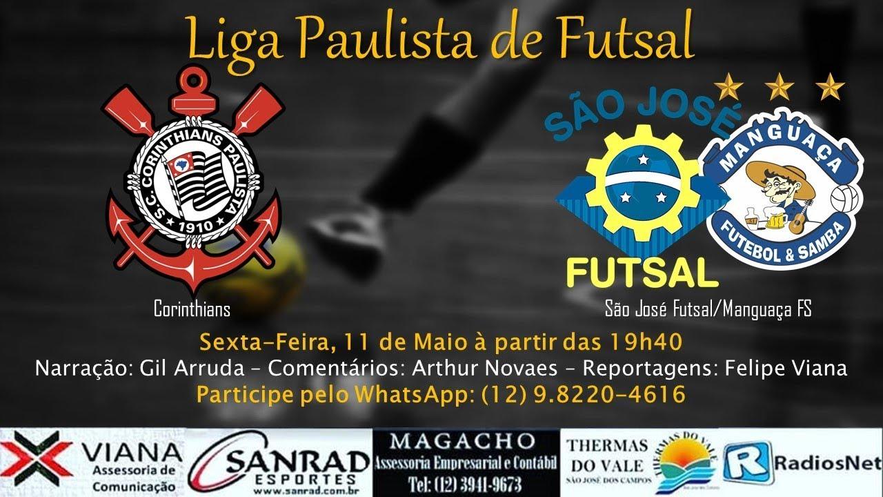 0cdfe45715 Corinthians 6x1 São José – Liga Paulista de Futsal – Rádio Arquibancada  Esporte Clube