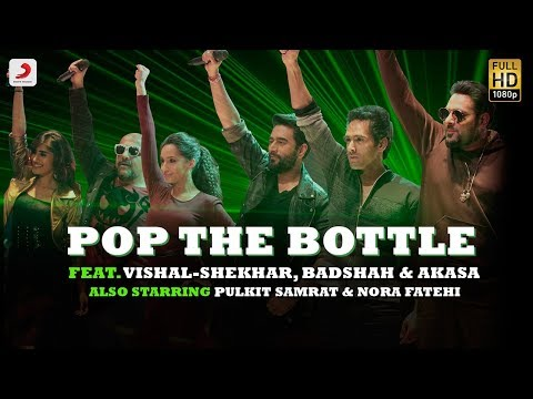 Thumbnail: Pop The Bottle - Vishal | Shekhar | Badshah | Akasa | Pulkit | Nora | Remo