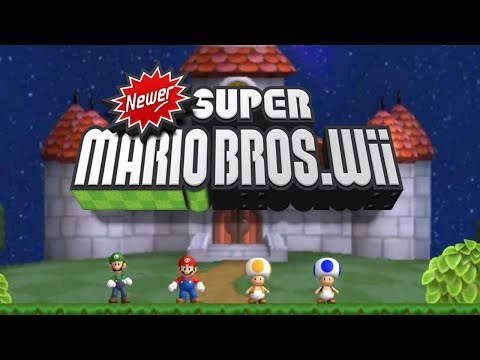 Newer Super Mario Bros Wii - Complete Walkthrough (All