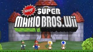 Newer Super Mario Bros Wii - Complete Walkthrough (All Worlds)