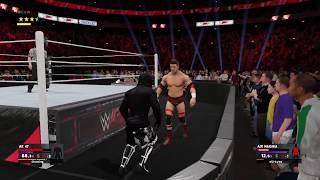WWE 2K17 1v1 against a spammer