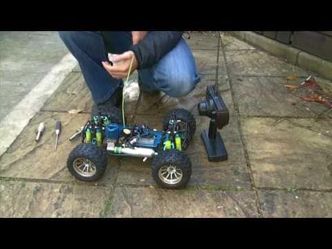 nitro car how to set low speed needle