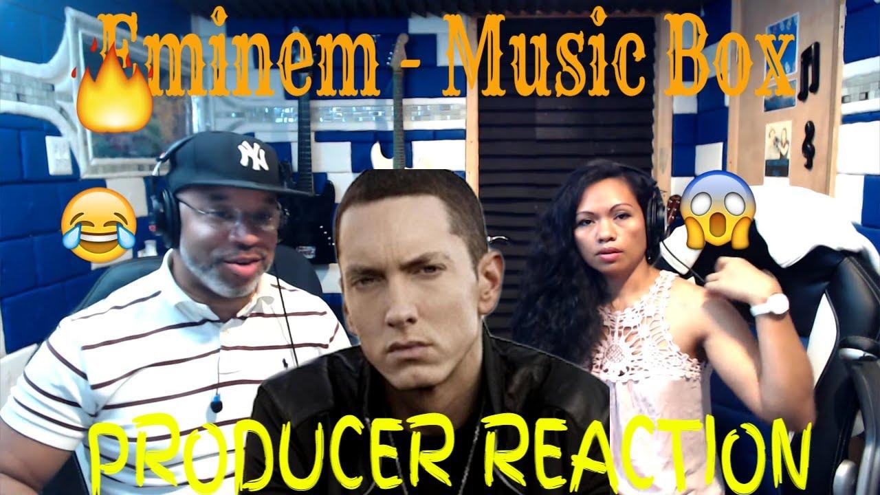 Eminem - Music Box lyrics - Producer Reaction