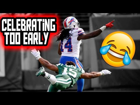Celebrating Too Early (NFL, NCAA, CFL)