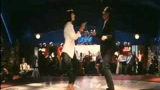 Quentin Tarantino PULP FICTION - Ballo di Travolta e Uma Thurman
