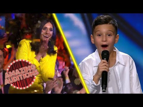 ADORABLE Mini MICHAEL JACKSON Tribute Wins GOLDEN BUZZER | Amazing Auditions