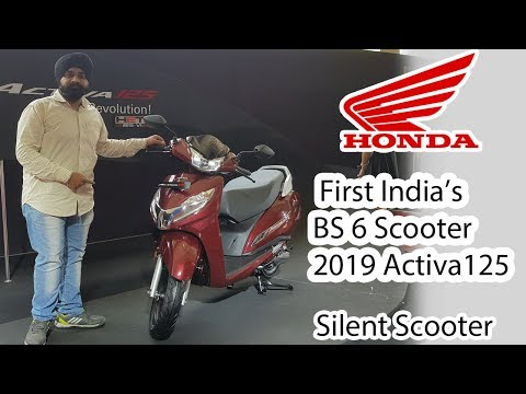 New 2019 Honda Activa 125 | 1st BS 6 Scooter of India
