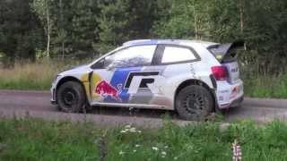 Volkswagen Polo R WRC - WRC Finland Tests 2013