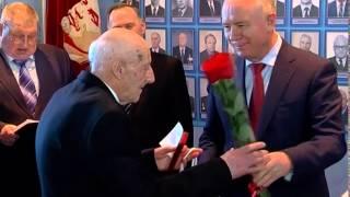 """Юбилейные медали """"70 лет Победы"""" получили ветераны ВОВ - работники РКЦ Прогресс"""