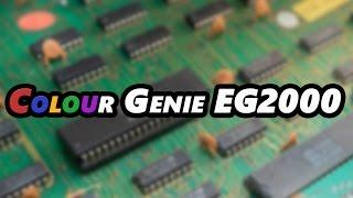 Colour Genie EG2000 | C64 predecessor | Z80 8-bit 2.2MHz | 16kbyte RAM | 16kbyte ROM | Review
