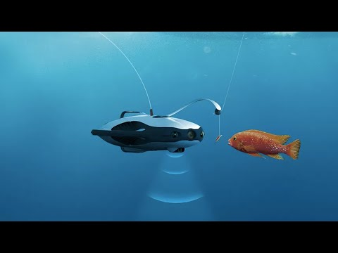 Underwater fishing drone lets users see underwater; Argodesign unveils ambulance drone - Compilation